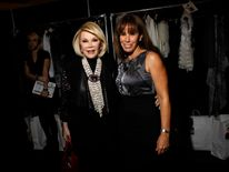 Comedian Joan Rivers and her daughter Melissa Rivers