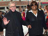 Film critic Roger Ebert and his wife Chaz Ebert