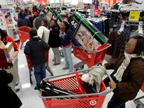Target in Chicago, Day after Thanksgiving 2011