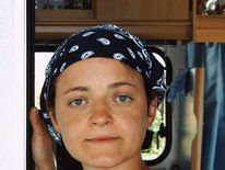A handout police picture taken from the website of the German Federal Police, showing a picture of Beate Zschaepe, asks for information to the public