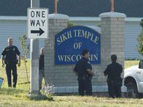 Sikh place of worship in Oak Creek where mass shooting took place Aug 5