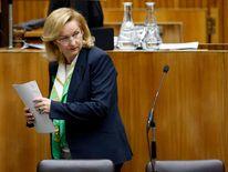 Austrian Finance Minister Fekter