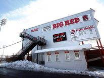 Harding Stadium, home of the Steubenville High Big Red football team sits in the middle of Steubenville, Ohio
