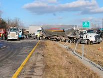 Ohio authorities respond to multi-car crash on Interstate 275 near Cincinnati