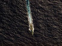 Chinese MSA vessel Hai Xin 01 is seen from a RNZAF P-3K2 Orion aircraft in the southern Indian Ocean, as the search continues for missing Malaysia Airlines flight MH370