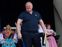 Toronto Mayor Ford attends the CHIN International Picnic in Toronto