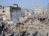 The results of Israeli strikes in Gaza.