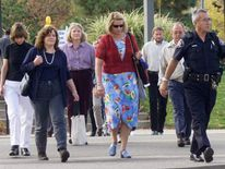 RAMSEY GRAND JURY LEAVES COURTHOUSE FOR DAY.