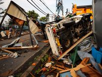 020913 JAPAN Dozens Injured In Tornado