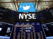 Twitter shares begin trading