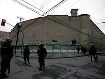 San Pedro prison in La Paz, Bolivia