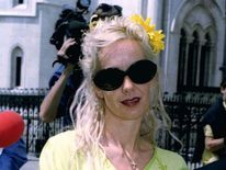 Paula Yates Pictured In 1996