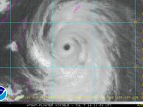 A satellite image of Super Typhoon Neoguri. Pic: NOAA