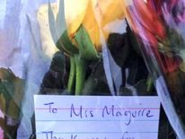 A note from a pupil left to Mrs Maguire
