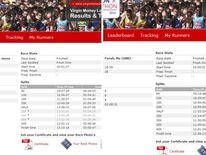 Split times of Jason Scotland-Williams and Mo Farah compared