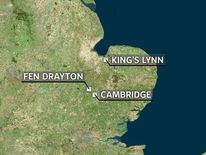 Fen Drayton Map