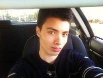 Elliot Rodger car selfie