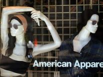American Apparel clothing shop
