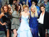 Spice Girls Melanie Brown, Melanie Chisholm, Geri Halliwell, Emma Bunton and Victoria Beckham