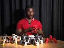 Silas Adekunle, the founder of Reach Robotics