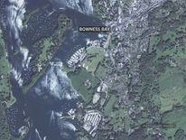 Windermere Bowness map