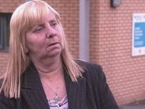 Margaret Aspinall from the Hillsborough families