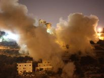 Israel destroyed the home of Hussam Quasma before dawn