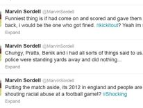 Sordell Twitter page
