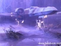 A screengrab from previously unseen footage of Star Wars: Return of the Jedi