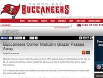 Malcolm Glazer dies
