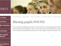 Stonyhurst College statement