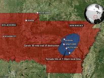 Storm Locations