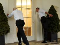 Obama's White House 'Workout'