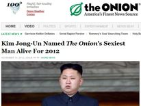 The Onion names Kim Jong-Un its sexiest man