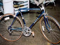 The bomber left the scene on this bicycle (FBI)