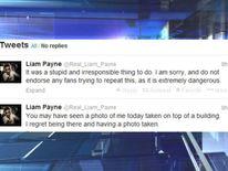 Liam Payne tweets