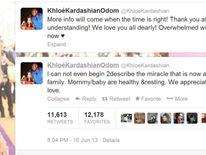 Khloe Kardashian's tweets