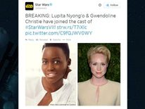 Lupita Nyong'o and Gwendoline Christie join new Star Wars movie