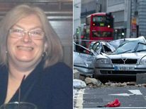 Julie Sillitoe died when part of building collapsed on her car