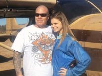 Makenzie Wethington with her father
