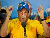 VENEZUELA-ELECTIONS-CAPRILES