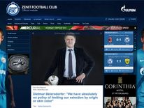 Zenit Football Club website