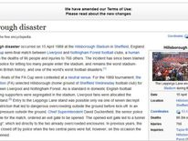 Wikipedia's Hillsborough page