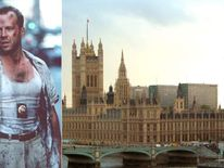 Bruce Willis and the Palace of Westminster