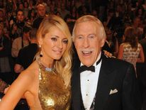 Sir Bruce with his Strictly co-star