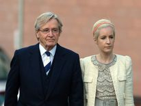 William Roache with daughter Verity