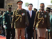 Xi Jinping in Pretoria