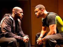 Blackta stars Daniel Francis and Howard Charles (Pic Simon Annand)