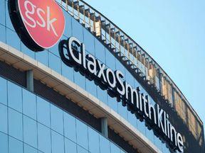 The GlaxoSmithKline building in west London