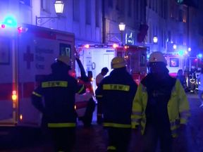 Three people were seriously injured by the explosion in Ansbach